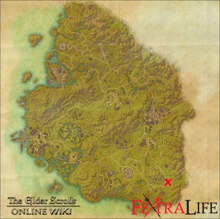 Greenshade Survey Maps | Elder Scrolls Online Wiki