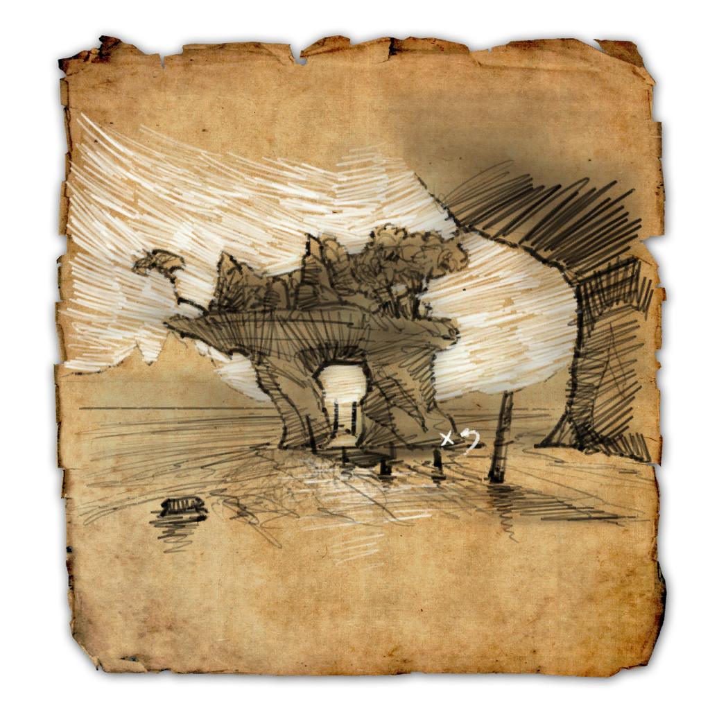Auridon Treasure Map III