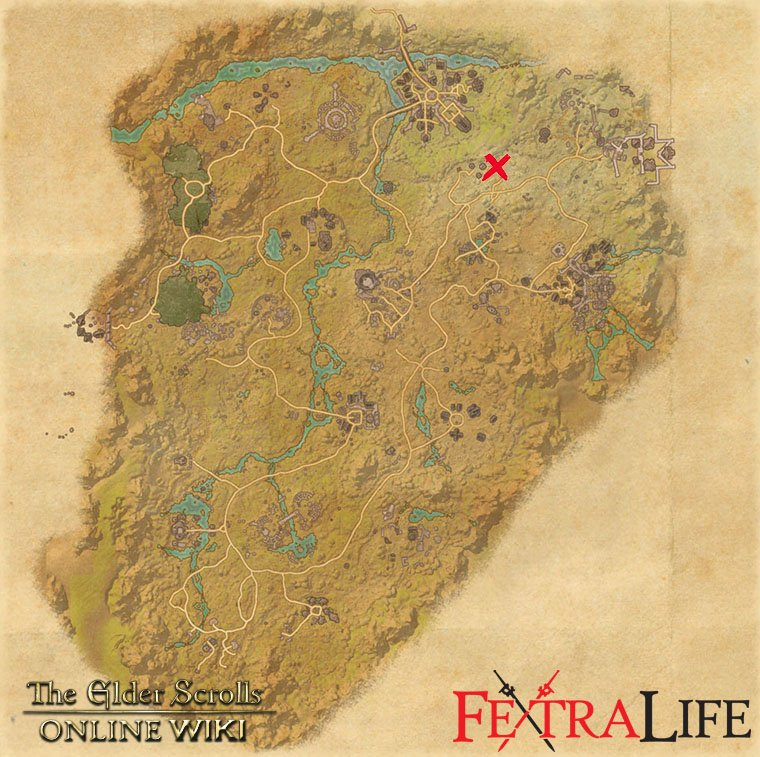 Reapers March Survey Maps Elder Scrolls Online Wiki