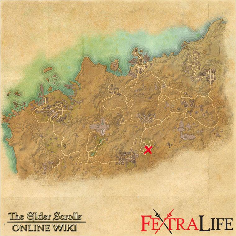 Alik R Desert Survey Maps Elder Scrolls Online Wiki