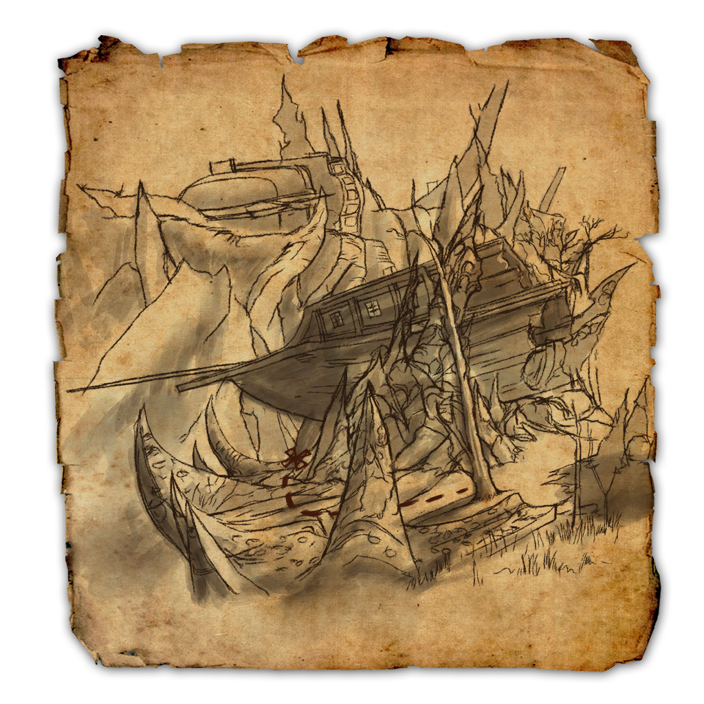 Coldharbour CE Treasure Map.png