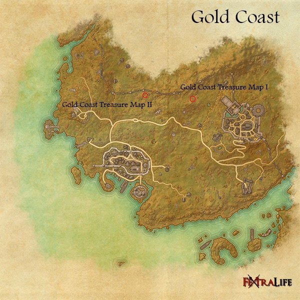 Gold Coast Treasure Maps Elder Scrolls Online Wiki