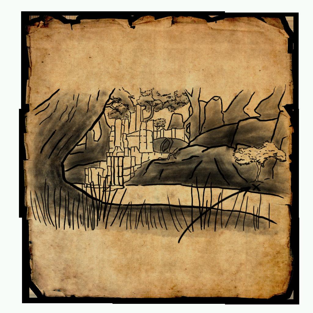 Malabal Tor Treasure Map V   Elder Scrolls Online Wiki on elder scrolls online map, grahtwood map, greenshade map, reapers march map,