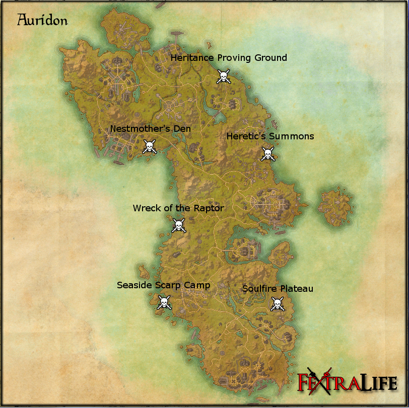 Auridon World Bosses Elder Scrolls Online Wiki