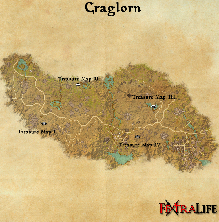 Craglorn Treasure Map III | Elder Scrolls Online Wiki