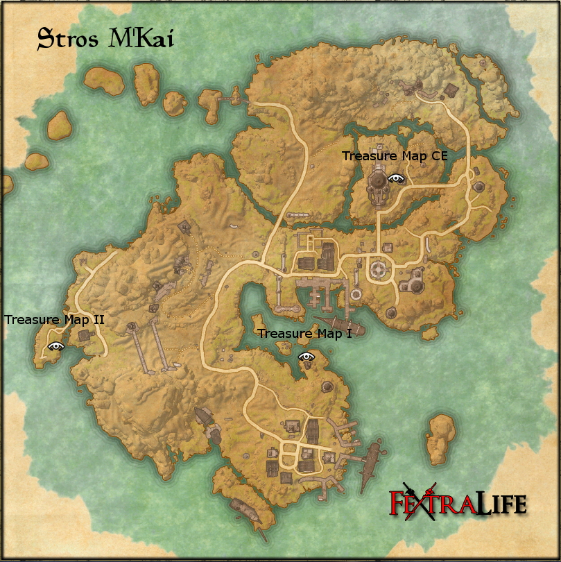 Stros M'Kai Treasure Maps | Elder Scrolls Online Wiki on open shortest path first, mail submission agent, address resolution protocol, simple mail transfer protocol,