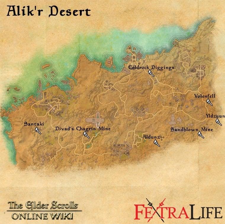 Sandblown Mine | Elder Scrolls Online Wiki