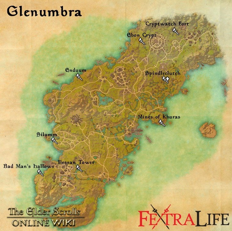 Silumm elder scrolls online wiki silumm map gumiabroncs Gallery