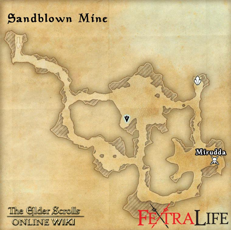 Sandblown Mine | Elder Scrolls Online Wiki on