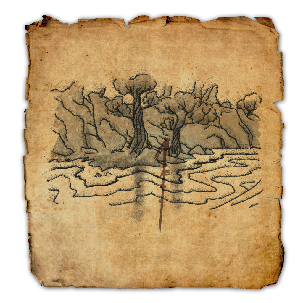 Shadowfen Treasure Map I | Elder Scrolls Online Wiki on green shade treasure map, the rift ce treasure map, eso stone falls ce treasure map, deshann eso ce treasure map,