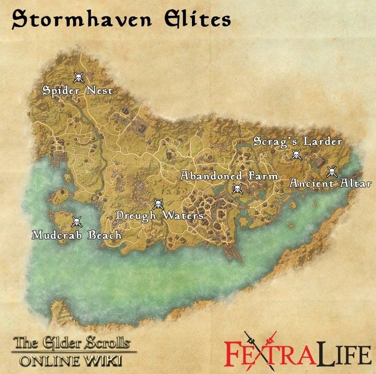 Stormhaven World Bosses Elder Scrolls Online Wiki