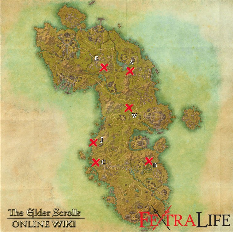 Survey Maps | Elder Scrolls Online Wiki