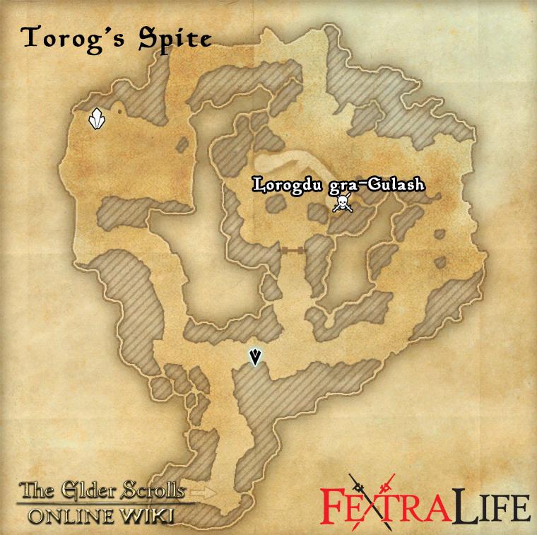 Torogs spite location