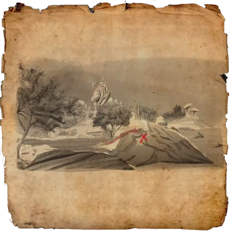 Carte Au Tresor Vvardenfell 1.Vvardenfell Treasure Maps Elder Scrolls Online Wiki