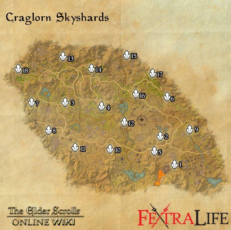 Craglorn Skyshards | Elder Scrolls Online Wiki