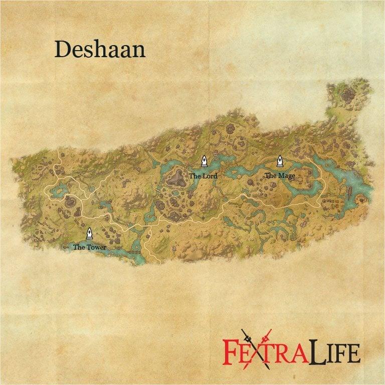 Eso Deshaan Crafting Set