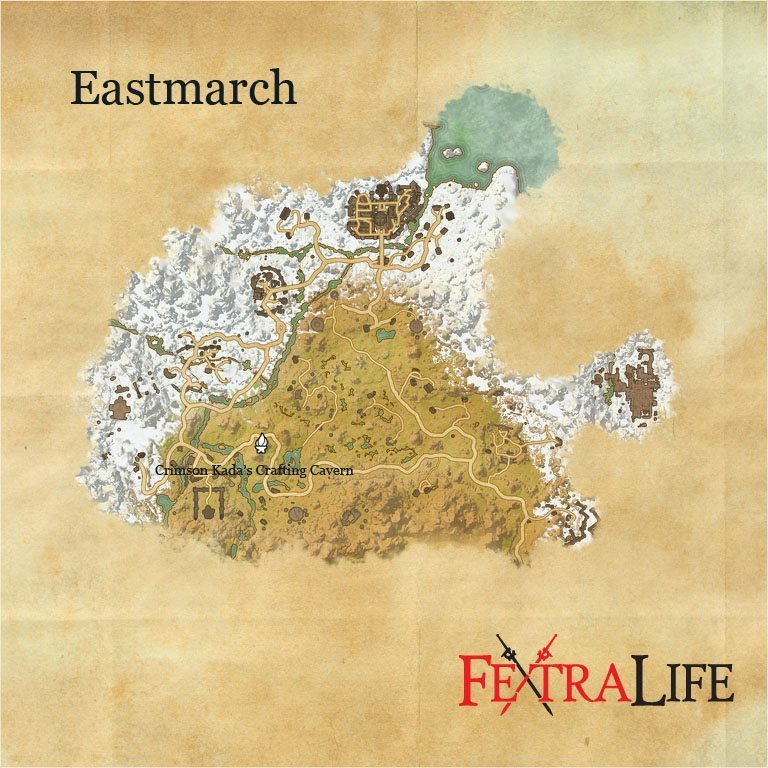 Eso Eastmarch Crafting