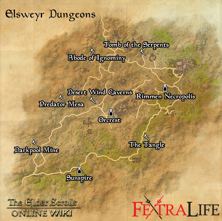 Elsweyr Dungeons