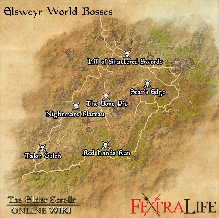 The Rift Map - The Elder Scrolls Online | game-maps.com |Eso World