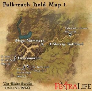 Watchers hold eso location guide