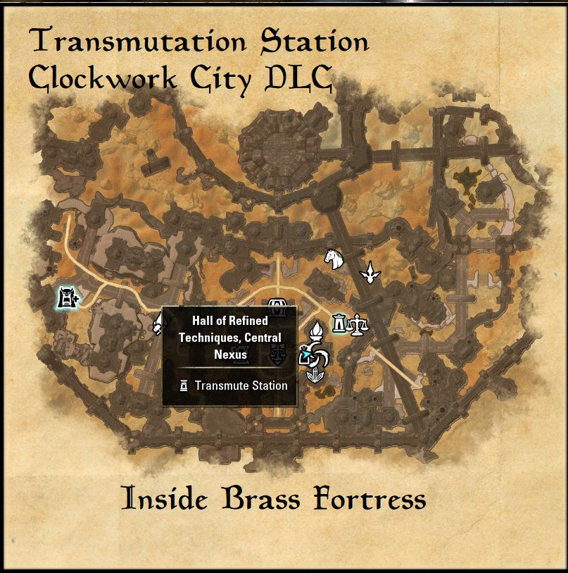 Eso Special Crafting Locations