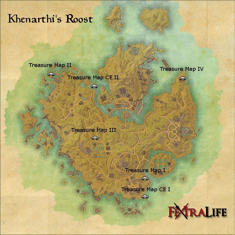 eso ce treasure maps with Khenarthi 27s Roost Treasure Maps on Rivenspire Treasure Maps moreover Eso Glenumbra Skyshards Locations Guide furthermore 450447 in addition Skyrim in addition Bleakrock Isle Treasure Maps.
