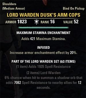 Lord Warden Set Elder Scrolls Online Wiki