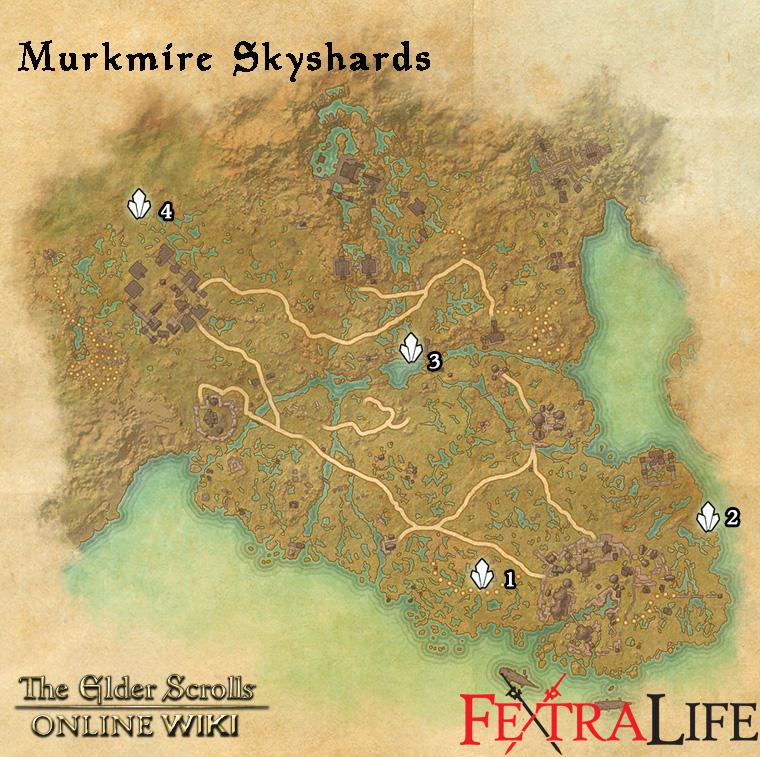 Murkmire Skyshards | Elder Scrolls Online Wiki