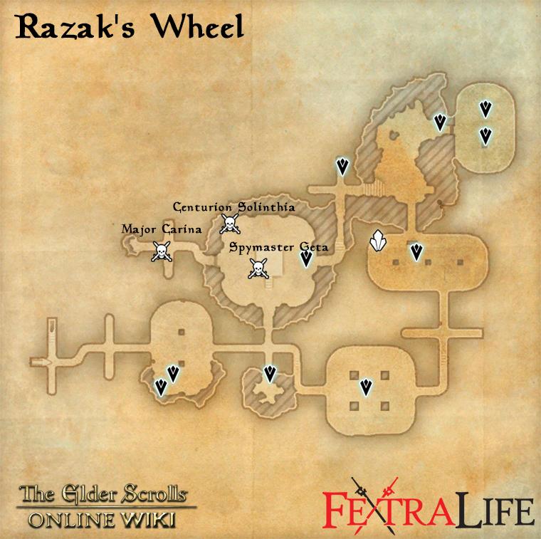 Razak S Wheel Elder Scrolls Online Wiki