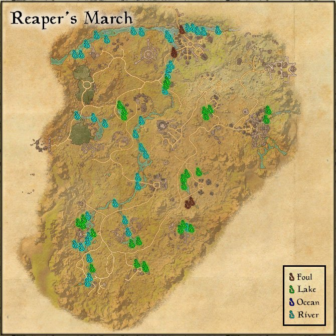 reapers-march fishing