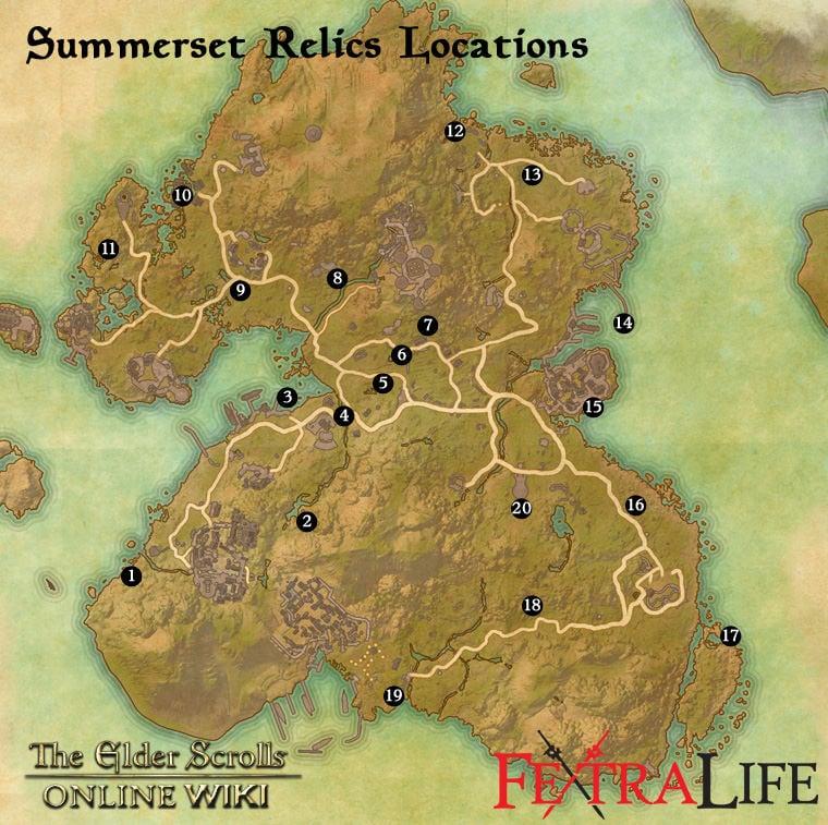 Relics of Summerset | Elder Scrolls Online Wiki