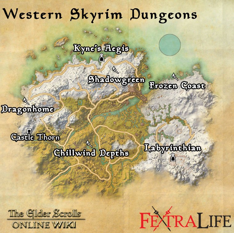 western-skyrim-dungeons-eso-wiki-guides