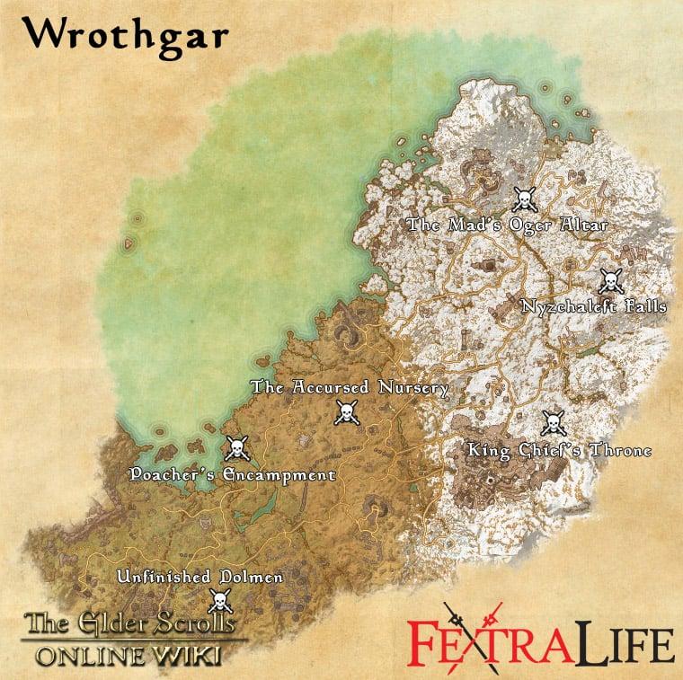 Wrothgar World Bosses | Elder Scrolls Online Wiki