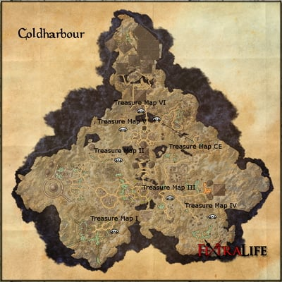 Coldharbour Treasure Maps | Elder Scrolls Online Wiki